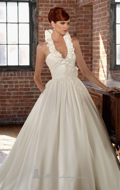 Mori Lee 4805 wedding dress available at MissesDressy
