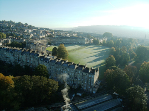 Marlborough Buildings / Royal Crescent, Bath, Somerset, UK. (by Madison Oakley)