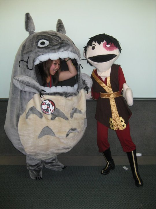 Totoro Cosplay by ~jncomplete whoa!