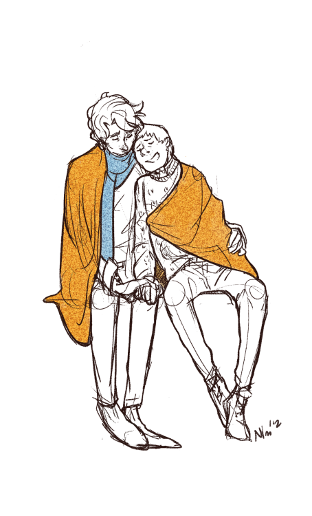 "OTP Challenge Day 2: Cuddling  ""I came here with a loadAnd it feels so much lighter Now I met youAnd honey you should knowThat I could never go on without youGreen eyes"""