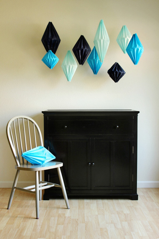 cjwho:  Make Your Own Paper Party Lanterns — Oh Happy Day