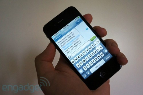 (via iPhone reportedly vulnerable to text message spoofing flaw - Engadget)  If you're an iPhone owner, you may want to use good judgment before responding to any out-of-the-blue text messages in the near future. French jailbreak developer and security researcher pod2g finds that every iPhone firmware revision, even iOS 6 beta 4, is susceptible to a flaw that theoretically lets a ne'er-do-well spoof the reply address of outbound SMS messages. As Apple is using the reply-to address of a message's User Data Header to identify the origin rather than the raw source, receiving iPhone owners risk being fooled by a phishing attack (or just a dishonest acquaintance) that poses as a contact or a company. A proof of concept messaging tool is coming to the iPhone soon, but pod2g is pushing for an official solution before the next iOS version is out the door. We've asked Apple for commentary and will get back if there's an update. In the meantime, we wouldn't panic — if the trickery hasn't been a significant issue since 2007, there isn't likely to be a sudden outbreak today.