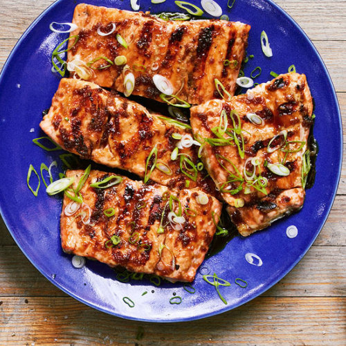 Make this now!  Daily Bite: Grilled Teriyaki-Glazed Salmon