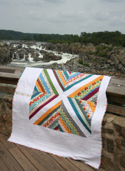 grumpystitches:  100 Quilts Quilt Along by katie @ swim, bike, quilt! on Flickr.