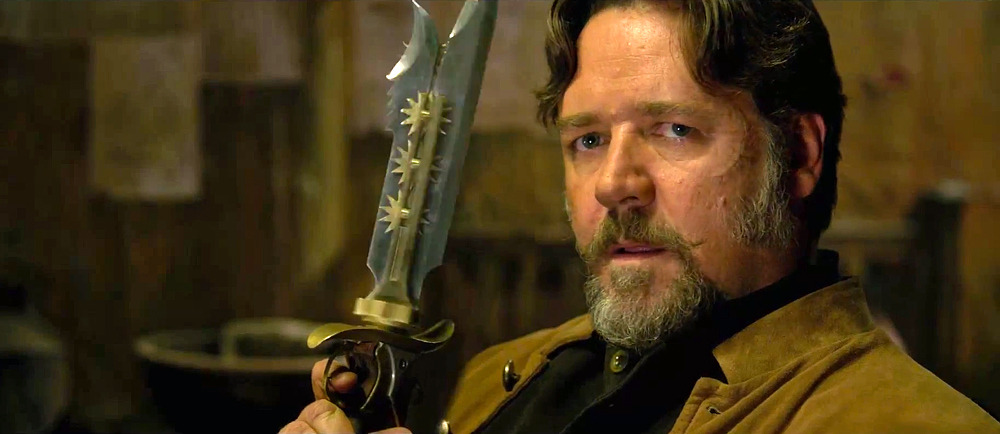 "Don't fuck with him. Russell Crowe as ""Jackknife"" in RZA's The Man with the Iron Fists. From the latest trailer: http://onfs.net/R7vUa4"