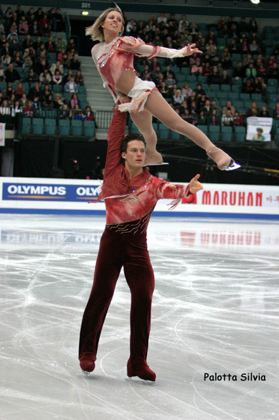 Valérie Marcoux and Craig Buntin skating their free program at the 2006 Grand Prix Final.