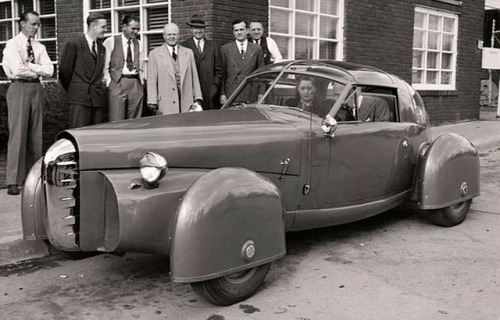 1948 Tasco Prototype by Gordon Buehrig 2 by kitchener.lord on Flickr.