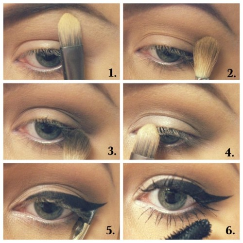 professional-princess:  #Tutorial #Makeup Lately I enjoy simplicity. (Taken with Instagram)  I think I will do this for my interview on Monday.