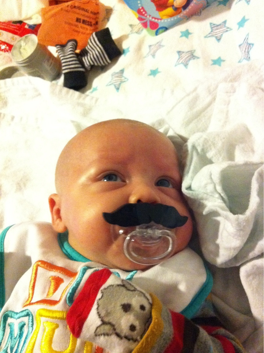 IF I HAVE CHILDREN I'm going to need them to have this pacifier.