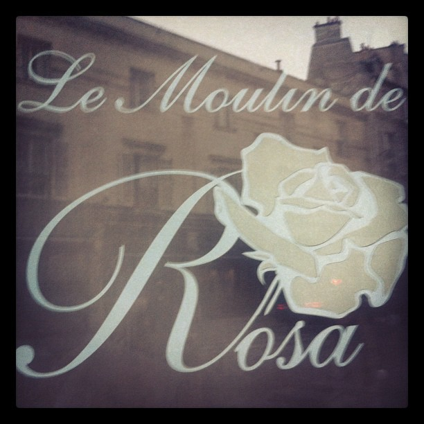 I've moved to Paris and opened a boulangerie (Taken with Instagram at Le Moulin de Rosa)