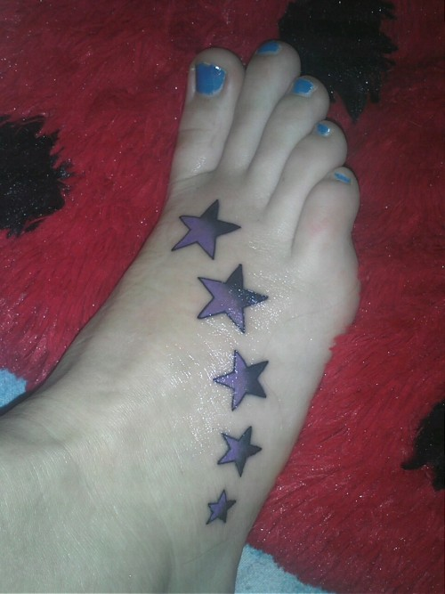 My tattoo:) getting my second one soon!:)