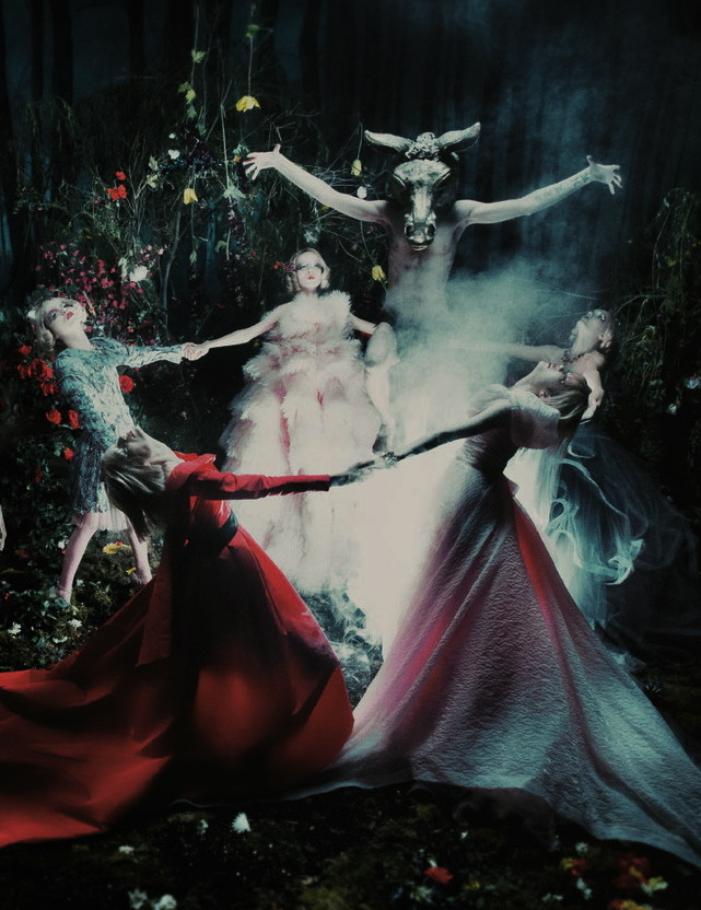 """Spellbound"" by Steven Meisel for W September 2012"