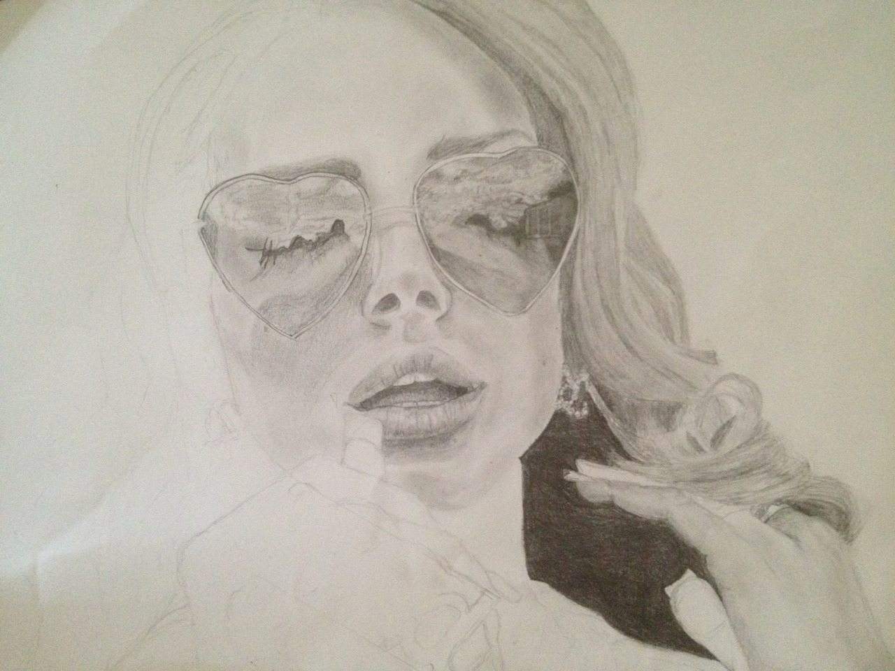 "Work in progress -Lana del rey. Just for ""inmydeepest""!!"
