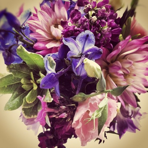 #bridesmaid #bouquet  (Taken with Instagram)