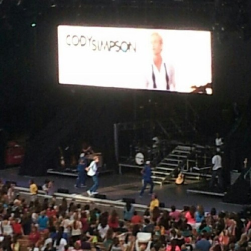 Cody Simpson! #codysimpson #nikontheater #jonesbeach  (Taken with Instagram at Nikon at Jones Beach Theater)