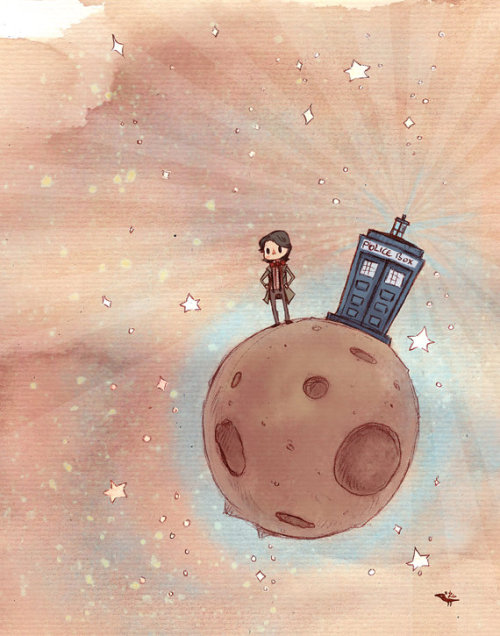 doctorwho:  The Little Timelord by Robin E. Kaplan  PERFECTION.