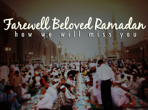 Ramadhan is going..but Allah is always with us forever..^^