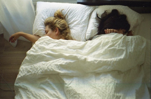 S: Carls. Carlyyyy. C: Hmmm? Sam, I'm tired. Can't it wait till morning? S: Nooo. C: All right, what is it? S: Thank you for being my best friend. C: …You're welcome, Sam. Go to sleep, okay? S: Mhmm…  A half-asleep Sam needs to tell Carly something.