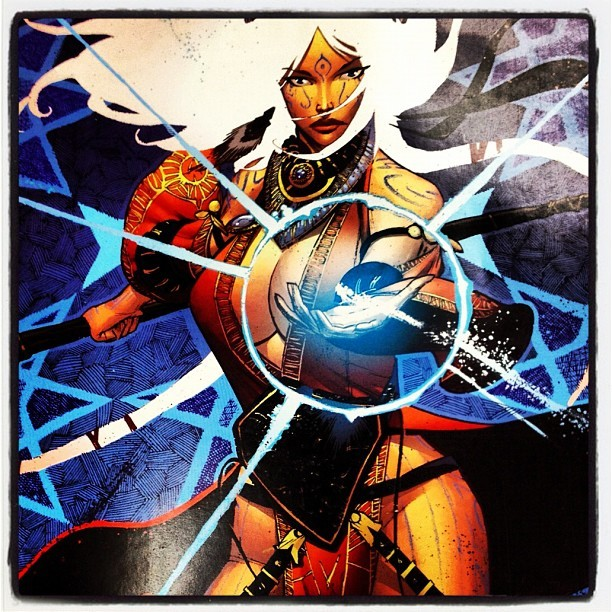 #Pathfinder Comic! (Taken with Instagram)