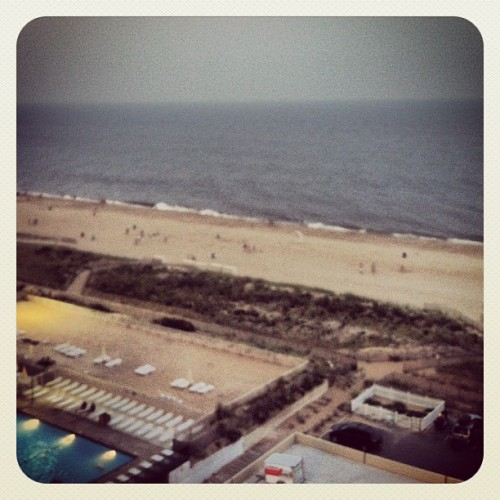 My #ocean view for the weekend (Taken with Instagram)