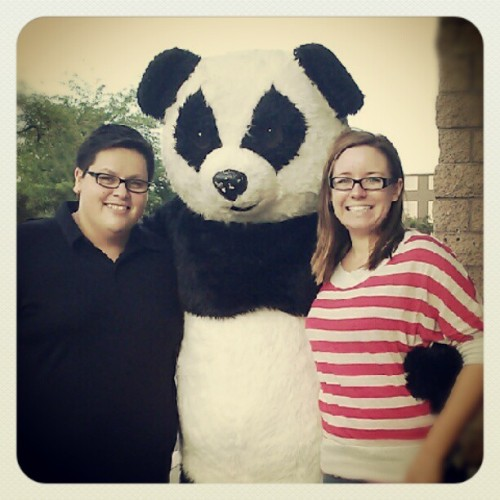 PANDA! #bestdateever (Taken with Instagram)