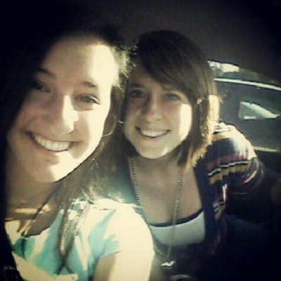 So happy she's home! Even just for a few days <3 @abbymarvin93  (Taken with Instagram)