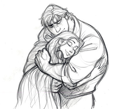 heckyeahheightdifferences:  Tangled Concept Art by Glen Keane