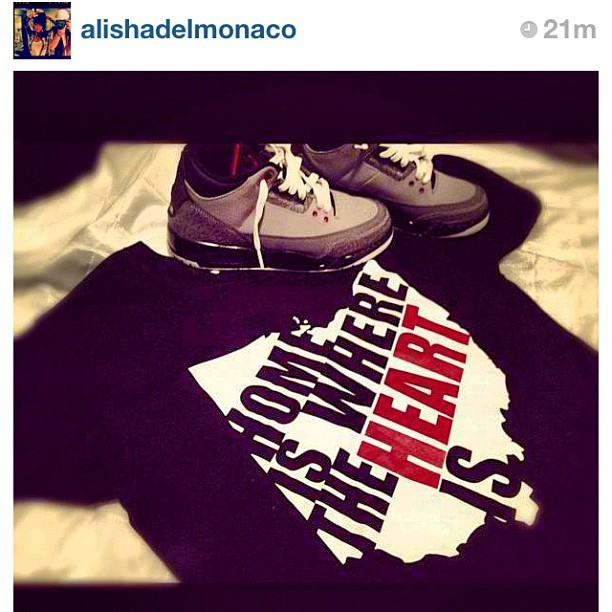 S/O @alishadelmonaco Ohio Pride #midwest #wisconsin #illinois #instagood #sneakerhead #sneakers #missouri #ohio #michigan #chicago #cleveland #detroit   #clothing #style #fashion #snapback #sneakerheads #sneakerholics #shoegamefuckedup #jordans #wdywt #shoeporn #walklikeus #skateboard #swag #igsneakercommunity #skatelife #sms #hiphop (Taken with Instagram)