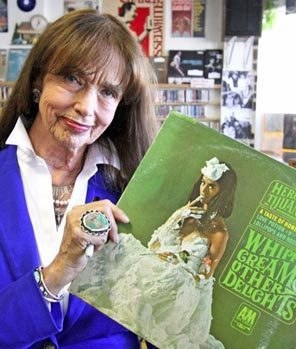 (via Herb Alpert's 'Whipped Cream Lady' now 76, living in Longview and looking back | The Seattle Times)