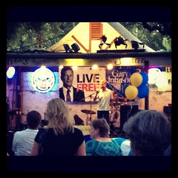 Gary Johnson (Taken with Instagram at Hill's Cafe)