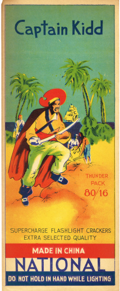 Captain Kidd Firecracker Brick Label -Original (2476 x 6014)