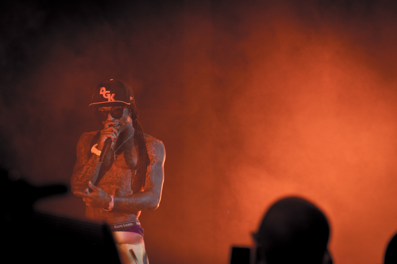 Lil Wayne @ OVOfest 2011 for The Source © Jalani Morgan