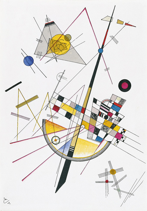 thecricketchirps:  Wassily Kandinsky, Mild Tension, 1923