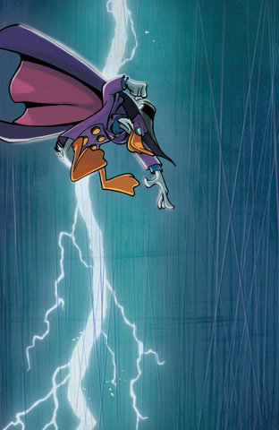 Darkwing Duck! The hero of a generation.