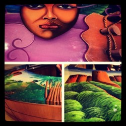 1804highsociety:  Art …BIG NIGHT IN LITTLE HAITI… (Taken with Instagram at Little Haiti Cultural Center)
