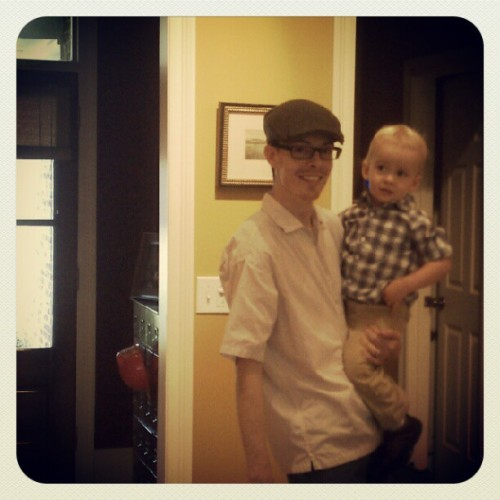 #photoadayaug two handsome #faces headed out for #southern Friday night fun! (Taken with Instagram)