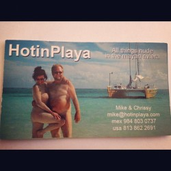 #nude #callingcard #beach #sailboat  #beach #gringos  (Taken with Instagram)