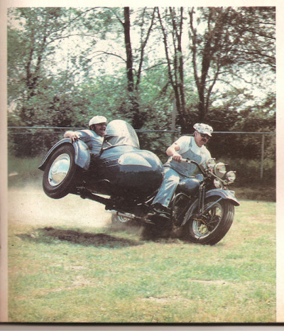 Super Mario and Luigi? RAILIN' a sidecar!