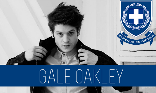Gale Oakley | Senior/5th Year | Literature Major | FC: Iwan Rheon  Gale came to Connor U during his sophomore year and only planned on staying for two semesters. He is from England and decided that he wanted to see what it was like to live in American for a little while. All the fraternities jumped at the chance to have them in their house because rumor has it he comes from a really wealthy family back in England. In the end he joined Sigma Chi Delta; they appreciated him for things other than money, mostly his high tolerance to alcohol. He enjoyed his first semester so much that he decided to stay at Connor U and is now in his senior year. One night, at a spontaneous Sigma party, Gale had slipped up, one of his condoms broke during sex with a girl who he lusted after, and she winded up pregnant. Gale was conflicted, he definitely didn't want the girl to keep it, and he hardly knew the chick. On the contrary, the impregnated girl wanted to keep the baby. She even threatened to make the news of her pregnancy mainstream, outing Gale as the baby's father. Refusing to crack under pressure, Gale met with her and offered a stipend of a quarter million dollars. He made sure the girl would take the money, and the baby, and leave his life for good. So far, he's felt no remorse, whatsoever. He's been very careful with sex, since then. Despite this, Gale's a very sweet guy and has been in quite a few relationships, the only problem is that he gets bored very easily and when this happens he just moves on to a new girl leaving behind the old one like nothing ever happened, which means he doesn't have the best relationships with some of the girls on campus. He's the brother that constantly has girls throwing their drinks in his face at parties. But despite is reputation on campus he still manages get dates, probably thanks to his British charm.  He has a love of books and when he's not enjoying a party he can usually be found at the coffee shop reading. He's a very laid back guy and likes to just sit back and enjoy the ride that comes along with being a member of Sigma Chi Delta.