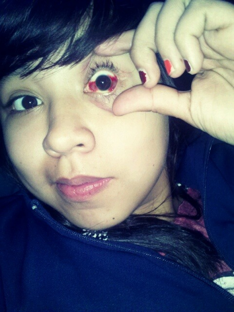 rudegurrrl:  My pokemon eye.  Cute