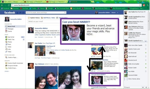 Why yes FACEBOOK, I do want to become a WIZARD! Thank you for asking.