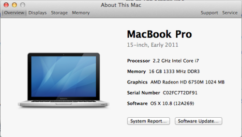 I'm a nerd. The 16GB RAM upgrade has gotten me excited. Bought it off of newegg.ca for $89, can't go wrong with that!