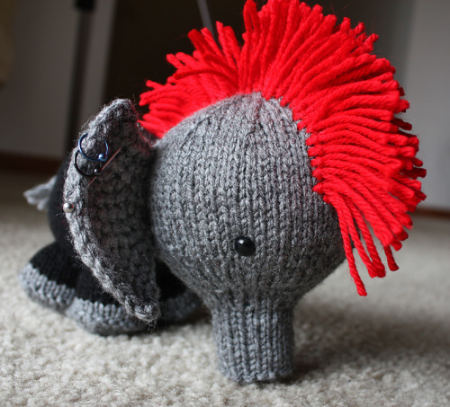 Elephunk, from Ravelry!