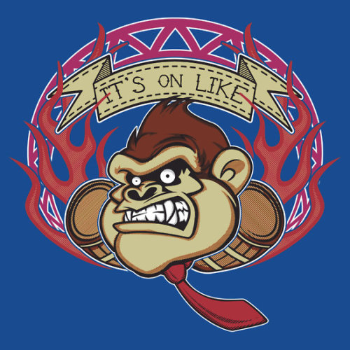 "buzatron:  (via ""It's on like…"" T-Shirts & Hoodies by buzatron 