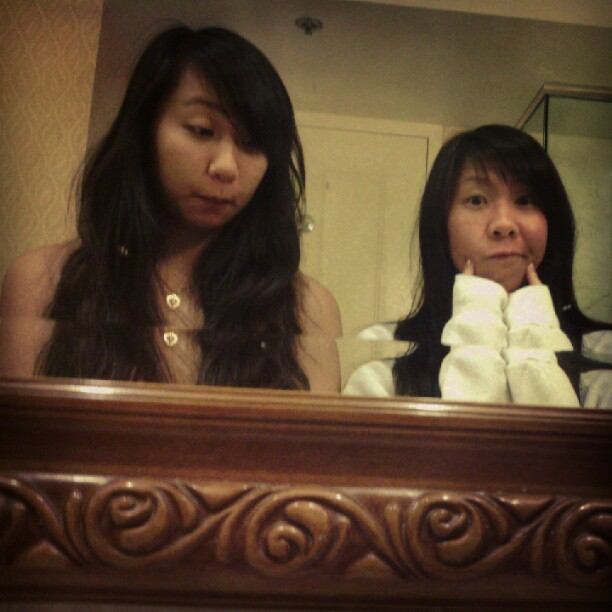 Night time buddiessssss  :) (Taken with Instagram at Beau Rivage Resort & Casino)
