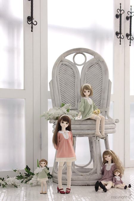 bluefairydolls:  『The'Hello, sunshine'Variation』outfits to be sold at the Sora*iro cafe