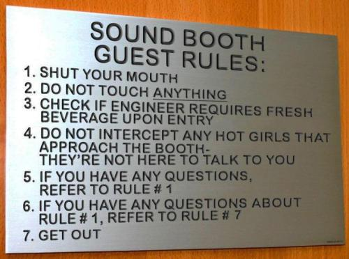This should be standard on every DJ booth too. (Source: BEHRINGER)