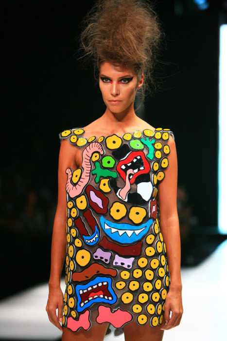 AAAHH! Real Monsters! inspired dress
