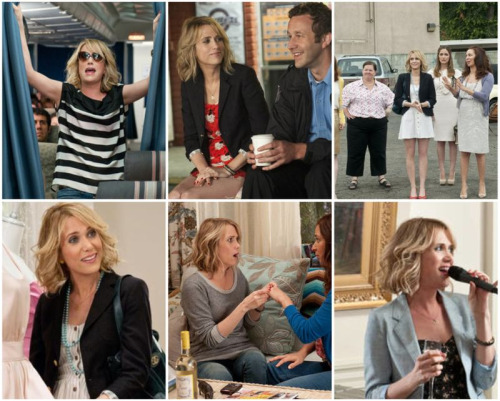 her outfits are so cute in bridesmaids