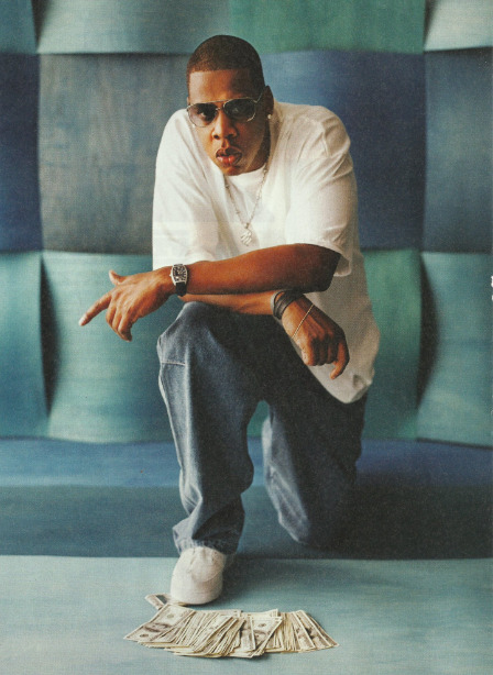 aintnojigga:  Jay-Z, photographed by Jonathan Mannion for The Blueprint in 2001.